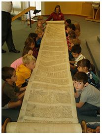 Children enountering the Torah