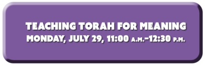 Teacihng Torah for Meaning
