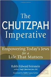 feinstein the chutzpah imperative